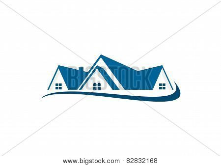 real estate vector logo design template