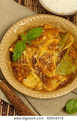 Pasta Ravioli Sorrentina