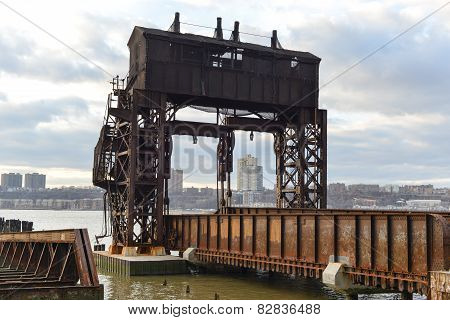 New York Central Railroad 69Th Street Transfer Bridge