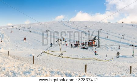 Vodafone Ski Resort At Serra Da Estrela, Portugal