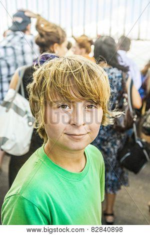 Happy Looking Boy