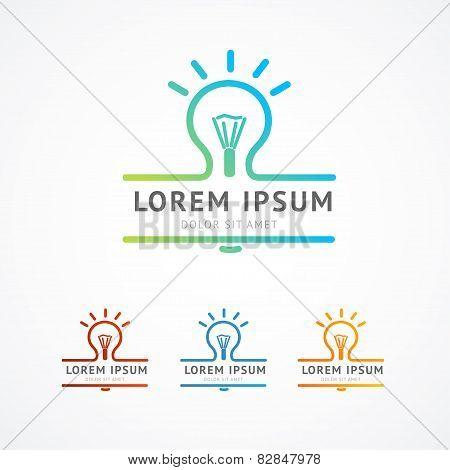 Vector illustration. Business logo