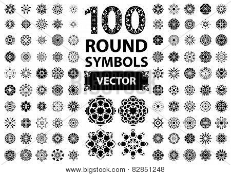 Round Ornament Set