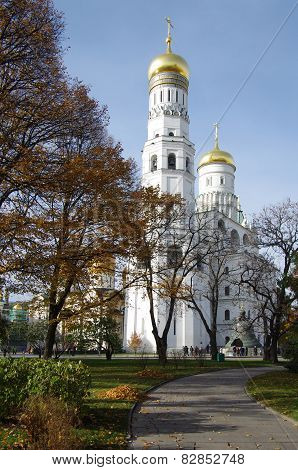 Ivan The Great Bell In Moscow, Russia