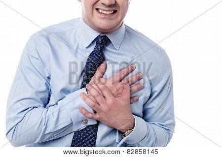 Man Has Sudden Heart Attack.