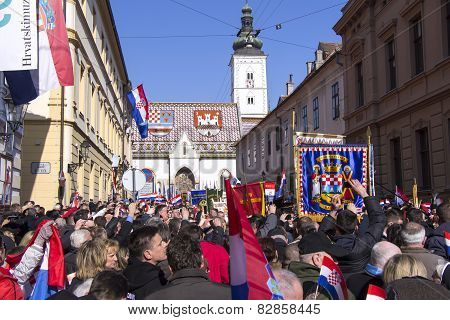 Inauguration Of The President Of Croatia