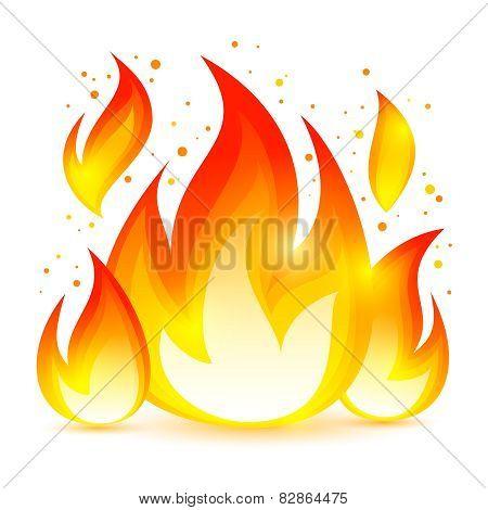 Fire Decorative Icon