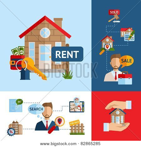 Real Estate Concept Set