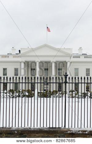 Washington DC - White House in Winter