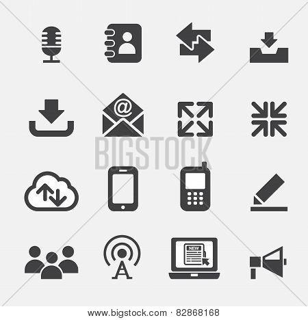 Web Communication Icon