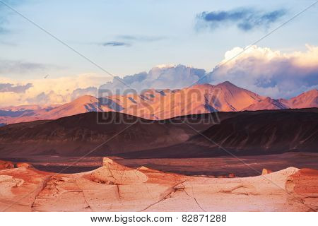 Mountain Plateau La Puna, Northern Argentina