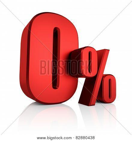 Red 0 Percent