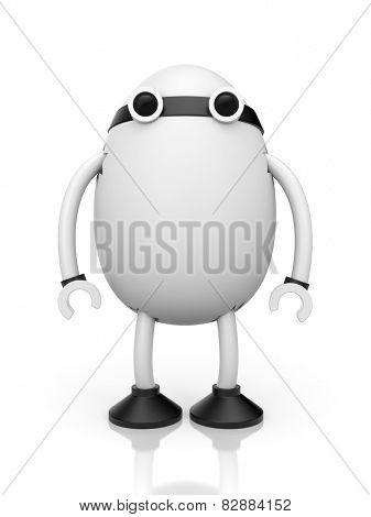 Egg robot