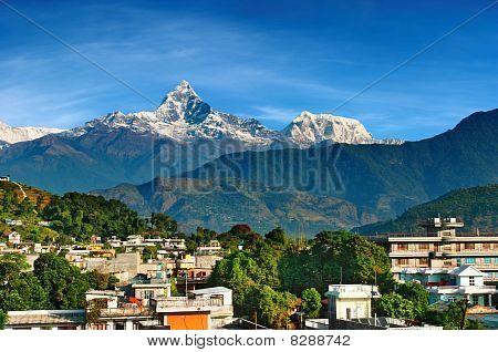 Cidade de Pokhara, Nepal