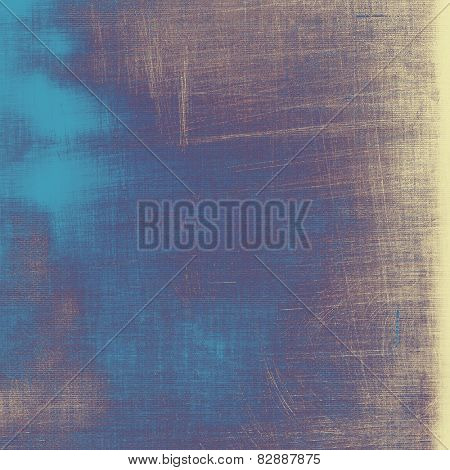 Vintage aged texture, colorful grunge background with space for text or image. With different color patterns: gray; blue; purple (violet)