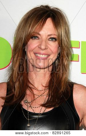 LOS ANGELES - FEB 12:  Allison Janney at the