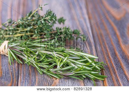 Thyme, Rosemary