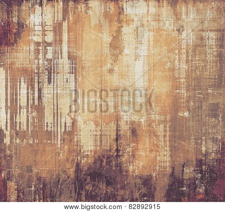 Retro background with grunge texture. With different color patterns: yellow (beige); brown; gray; purple (violet)