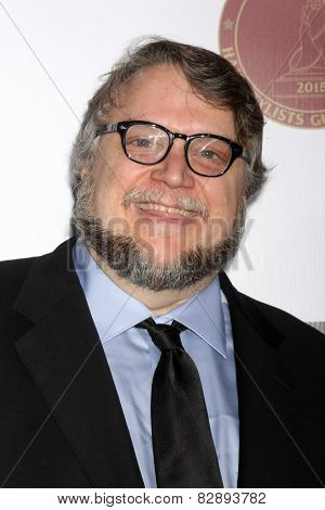 LOS ANGELES - FEB 14:  Guillermo Del Toro at the 2015 Make-up and Hair Stylists Guild Awards at a Paramount Theater on February 14, 2015 in Los Angeles, CA