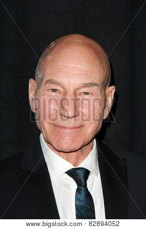 LOS ANGELES - FEB 14:  Patrick Stewart at the 2015 Writers Guild Awards at a Century Plaza Hotel on February 14, 2015 in Century City, CA