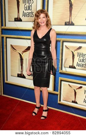 LOS ANGELES - FEB 14:  Rene Russo at the 2015 Writers Guild Awards at a Century Plaza Hotel on February 14, 2015 in Century City, CA