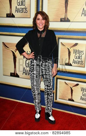 LOS ANGELES - FEB 14:  Jill Soloway at the 2015 Writers Guild Awards at a Century Plaza Hotel on February 14, 2015 in Century City, CA