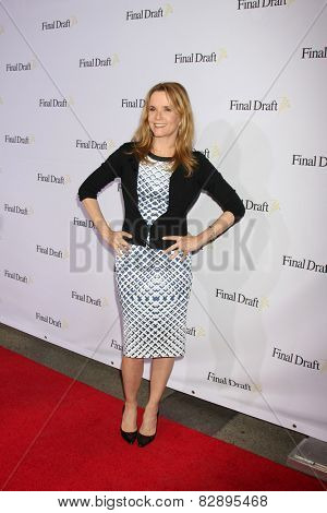 LOS ANGELES - FEB 12:  Lea Thompson at the 10th annual Final Draft Awards at a Paramount Theater on February 12, 2015 in Los Angeles, CA