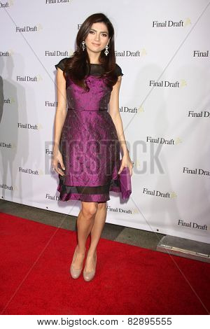 LOS ANGELES - FEB 12:  Blanca Blanco at the 10th annual Final Draft Awards at a Paramount Theater on February 12, 2015 in Los Angeles, CA