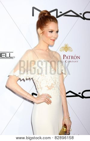 LOS ANGELES - FEB 14:  Darby Stanchfield at the 2015 Make-up and Hair Stylists Guild Awards at a Paramount Theater on February 14, 2015 in Los Angeles, CA