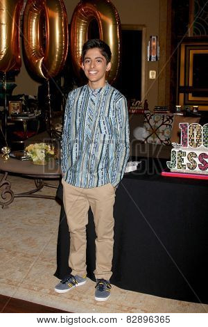 LOS ANGELES - FEB 12:  Karan Brar at the Disney Channel's