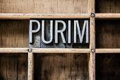 stock photo of purim  - The word  - JPG