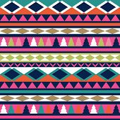 picture of wallpaper  - Seamless vector tribal texture - JPG