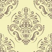picture of damask  - Damask seamless pattern - JPG