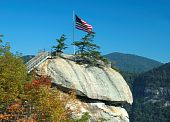 picture of asheville  - Chimney Rock is located just 25 miles Southeast of Asheville North Carolina - JPG