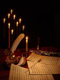 stock photo of tchaikovsky  - hand written - JPG