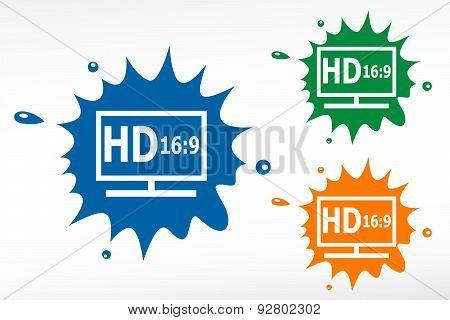 Hd Display - Color Blob