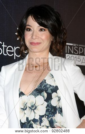 LOS ANGELES - JUN 5:  Katherine Castro at the Step Up Women's Network 12th Annual Inspiration Awards at the Beverly Hilton Hotel on June 5, 2015 in Beverly Hills, CA