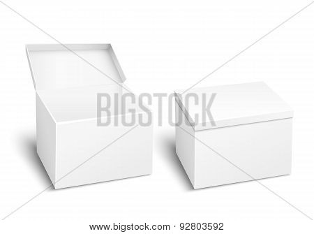 Blank vector box