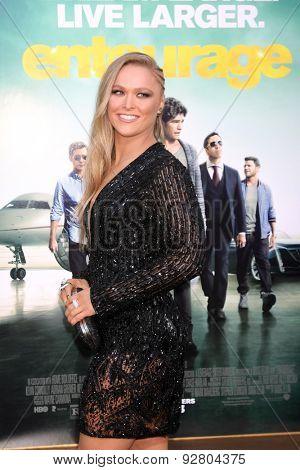 LOS ANGELES - MAY 27:  Ronda Rousey at the