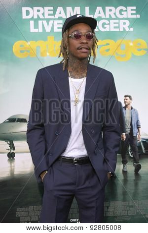 LOS ANGELES - MAY 27:  Wiz Khalifa at the