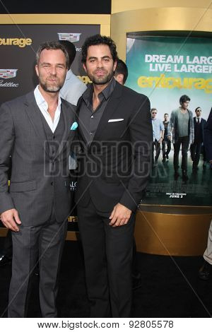 LOS ANGELES - MAY 27:  Adrian Bellani (right) at the