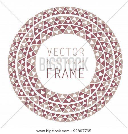 hand drawn frame