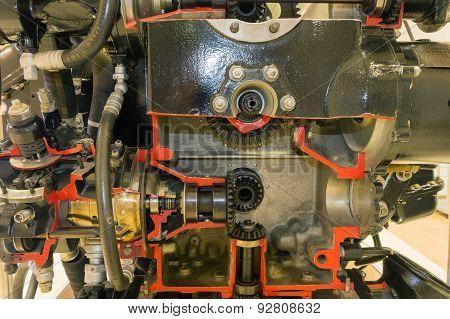 Piston Aircraft Engine