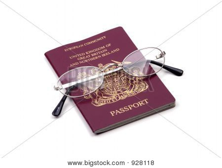 Objects - Passport And Glasses