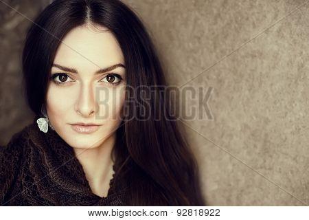 Gorgeous Brunette Portrait