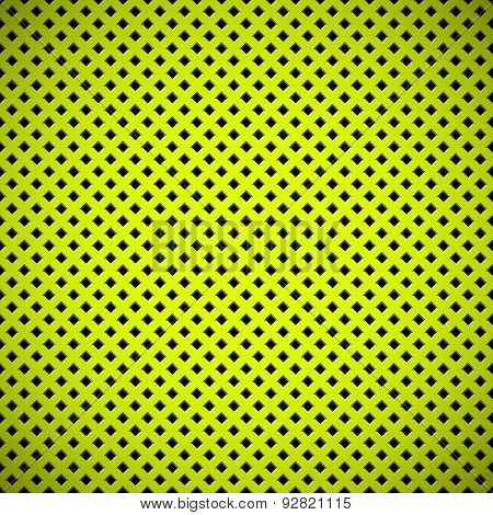 Green Background With Perforated Pattern