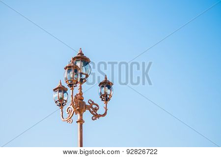 Vintage Street Lamp Post