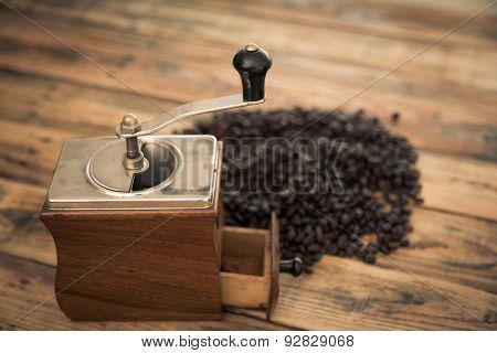 Preparation drip coffee ( Filtered image processed vintage effect. )