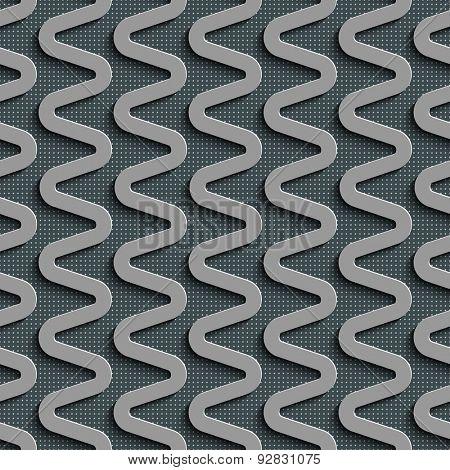 Seamless  Zig zag Pattern. Abstract Gray Background. Vector Regular Texture