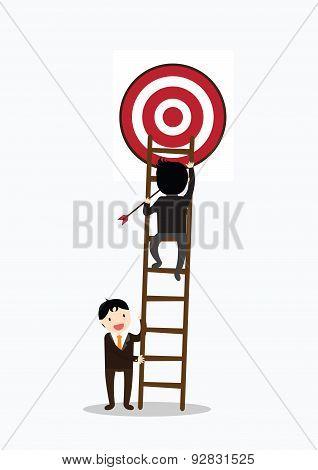 Teamwork Target Concept